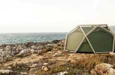 Inflatable Pole-Less Tents - The Cave Tent by Heimplant is Super Easy and Convenient