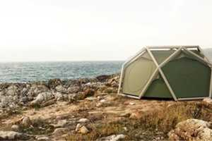 The Cave Tent by Heimplant is Super Easy and Convenient