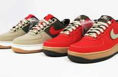 Customized Canvas Shoes - Nike Air Force 1 Bespoke Redesigned by Frank the Butcher and Deon Point