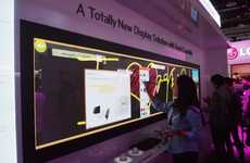 Touchscreen Televisions - The LG Touch TV Offers Interactive Entertainment