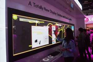 The LG Touch TV Offers Interactive Entertainment