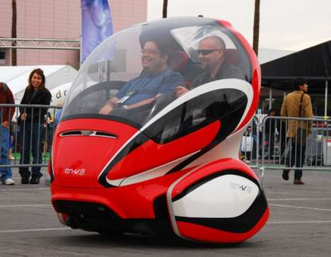 Urban Pod Cars - The GM EN-V Goes from Concept to Reality (UPDATE)