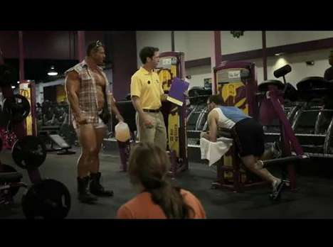 planet fitness commercial