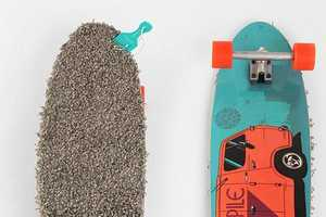 This Urban Outfitters Skateboard is Hippie-Cool
