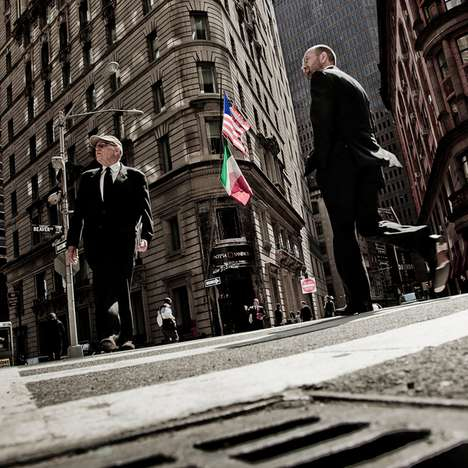Epic Financial District Photography - The Matt Mawson Bankers Series is Shot on Wall St. & Lime St.