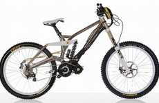 Mountable Cycle Motors - The Ego-Kits E-Powered Downhill Bike Kit Gets You Through Tough Spots