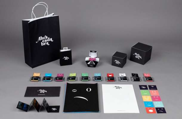 Typographic Treat Packaging