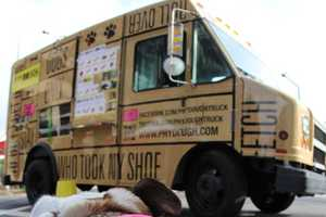 The Phydough Truck Sells Gourmet Dog Treats