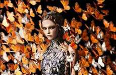 A Sneak Peak of the Alexander McQueen Spring Summer 2011 Ads