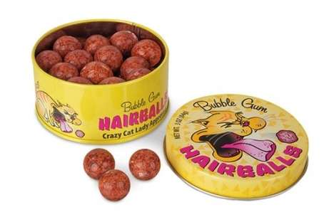 Bubble Gum Hairballs