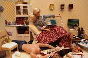 Mariel Clayton Shows Barbie's Twisted Side