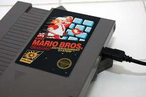 Transformed NES Hard Drives are a Geeky Pleasure