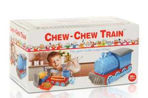Chug Through Meals With the Chew-Chew Train Dinner Set
