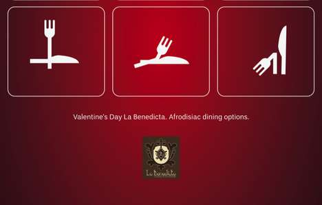 Cutlery Kama Sutra Ads - La Benedicta Aphrodisiac Dining Campaign is Arousing