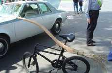 Bewitching Broom Bikes