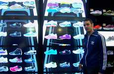 3D Retail Shopping Walls - The Ultimate Retail Therapy With the adiVerse Virtual Footwear Wall