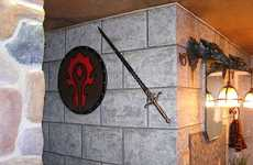 RPG-Inspired Interiors - A Gaming Couple Designs a World of Warcraft Bathroom