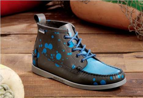 Graffiti Artist Kicks - The Stash & Sebago Beacon Boot Spring 2011