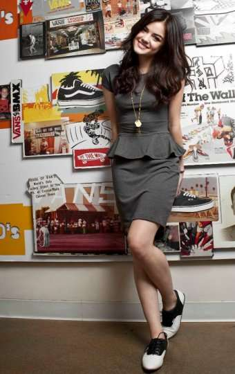 Lucy Hale Vans Girls