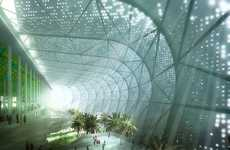 Sustainable Super Stadiums - The Grand Stade de Casablanca is a Monolithic Eco Sports Structure