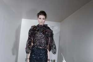 The Alber Elbaz 2011 Fall Collection Combines Couture and Creatures