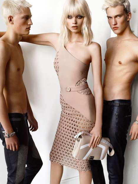 versace spring 2011 campaign