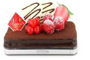 The Strapya Chocolate Cake iPhone Case Looks Good to Eat