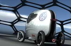 Gyro-Balanced Vehicles - Colin Pan's MBOLIC is Designed for Singles in China