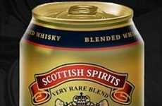 Canned Whiskeys - Scottish Spirits Releases 12oz. Cans of Scottish Whiskey In South America