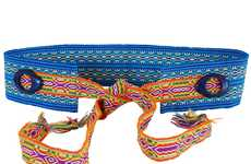 Psychedelic Handmade Belts