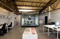 Slick Stylish Offices - Smog by Sebastian Bravo is a Place Anyone Would Love to Work in