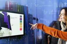 Interactive Window Shopping - Hi-tech Interactive Window Displays Will Change the Future of Retail