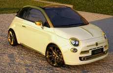 Get Your Wealth on with the Fenice Milan Gold and Diamonds Fiat