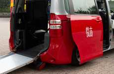 Handi-Capable Cabs - Diamond Cab is Hong Kong's First Wheelchair-Friendly Taxi Service