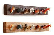 Animal Head Hooks