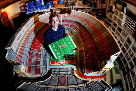 LEGO Version Ohio Stadium