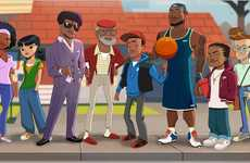 Funky NBA Cartoons