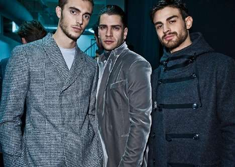 The Muted Menswear of the Georgio Armani AW11 Collection