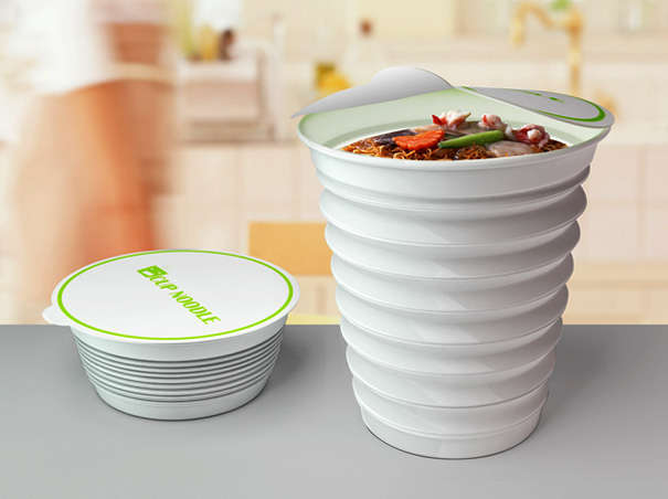 Space-Saving Food Packaging