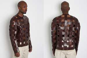 The Unique Caged Leather Jacket From the Martin Margiela Collection 0