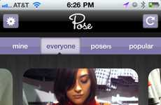 Photo-Sharing Shopping Apps - Strike a Pose & Share Your Shopping Sprees With the Pose iPhone App