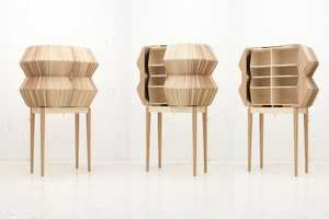 The Accordion Cabinet by Elisa Strozyk and Sebastian Neeb