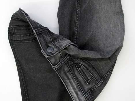 Multifunctional Eco Pants - Bleulab Reversible Jeans Can Be Worn Inside and Out