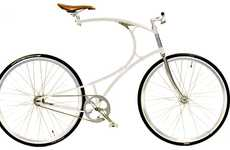 $2000 Two-Wheelers - The Curvy Vanhulsteijn Bicycle Comes at a Hefty Price