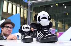 Black and White Bear Kicks