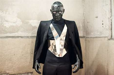 Mugler Menswear aw11 collection