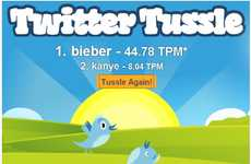 Twitter Tweet Counters - Find Out What Words are Hot Using the Twitter Tussle