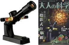 Adult Science Kits - The Kaleidoscope Projector Brings Out Your Inner Science Geek