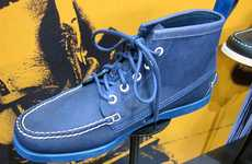 Azure Boat Shoes