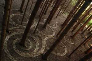 Land Art by Sylvian Meyer are Creations Like You've Never Seen